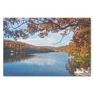 Autumn at Lake Killarney Tissue Paper