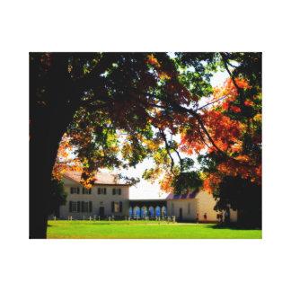 Autumn at Mount Vernon Wrapped Canvas Gallery Wrap Canvas