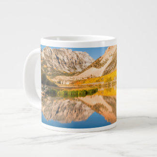 Autumn at North lake, California Large Coffee Mug