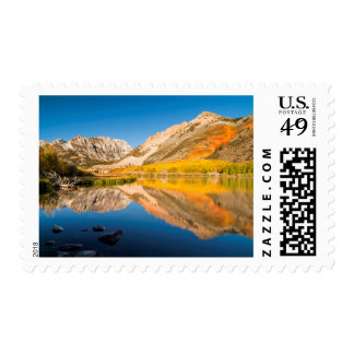 Autumn at North lake, California Postage
