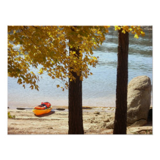 Autumn at Red Top Mountain State Park Poster