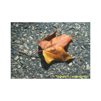 Autumn at the Caves - Wrapped Canvas Gallery Wrapped Canvas