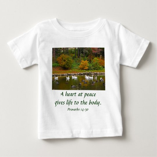 Autumn at the Duck Pond Baby T-Shirt