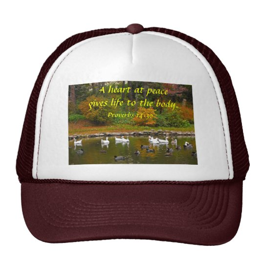 Autumn at the Duck Pond Trucker Hat
