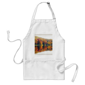 Autumn at the Lake Adult Apron
