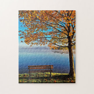 Autumn At the Lake Jigsaw Puzzle