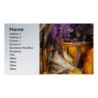 Autumn - Autumn is festive Double-Sided Standard Business Cards (Pack Of 100)