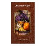 Autumn - Autumn is festive Business Card Templates