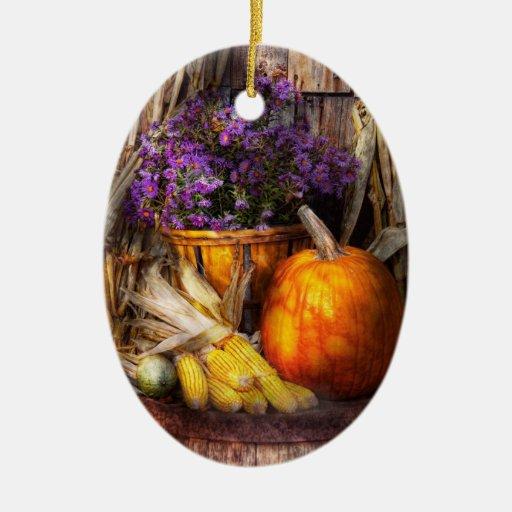 Autumn - Autumn is festive Christmas Tree Ornament