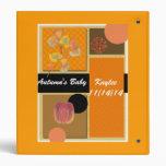 Autumn Baby Photo Album Vinyl Binder