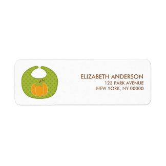 Autumn Baby Shower Address Labels