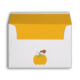Autumn Baby Shower Envelope