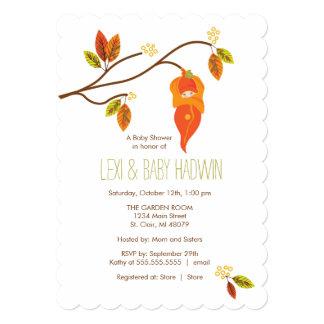 Autumn Baby Shower Invitation  |  Neutral