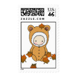 Autumn Baby Shower Postage Stamps