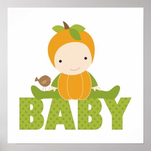 Autumn Baby Shower Sign Print
