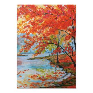 Autumn Bank 3.5 x 5 Notecard