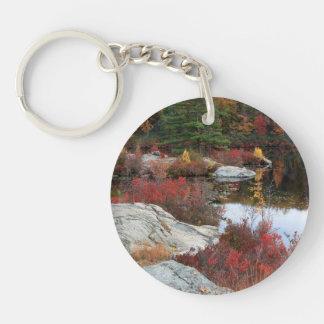 Autumn Bay Keychain