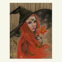 Autumn Beauty Postcard