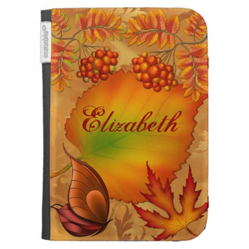Autumn Berries Case For Kindle