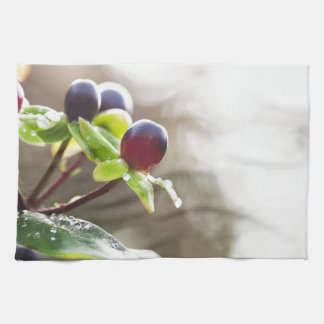 Autumn Berries Kitchen Towel