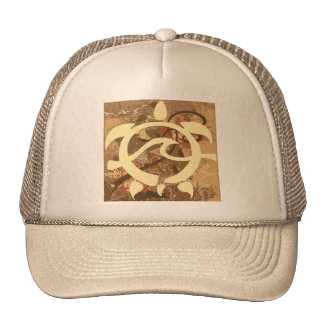 Autumn-BG-Turtle Mesh Hat
