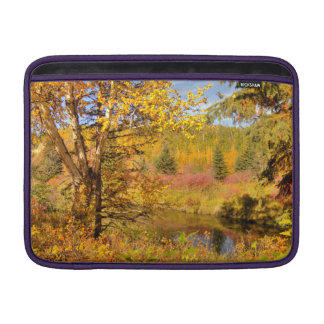 Autumn Birch Tree MacBook Sleeve