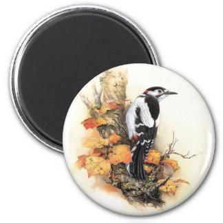 Autumn Bird Magnet