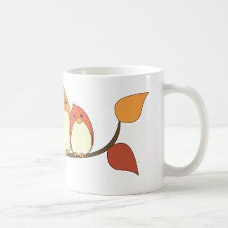 Autumn Birds Mugs