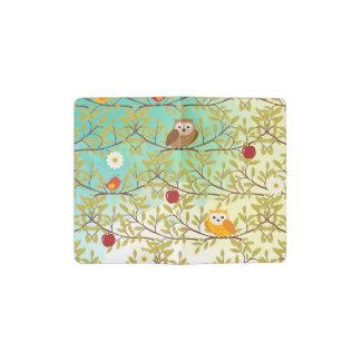 Autumn birds pocket moleskine notebook