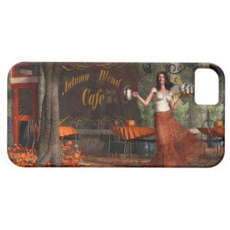 Autumn Blend Cafe iPhone SE/5/5s Case