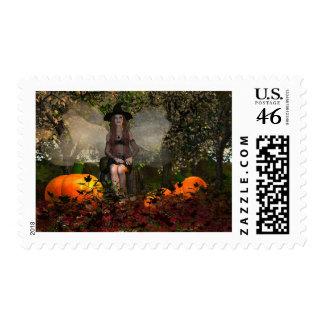 Autumn-Blessed Samhain Stamp