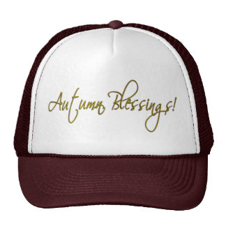 Autumn Blessings Hat