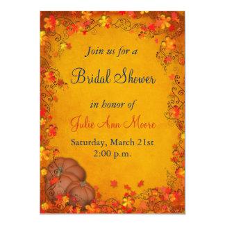 Autumn Bliss Bridal Shower Custom Invitation