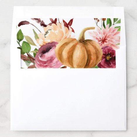 Autumn Bliss Envelope Liner