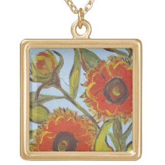 Autumn Blooms Necklace