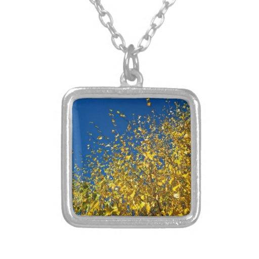 Autumn Blue Sky Necklace