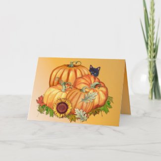 Autumn Bounty card