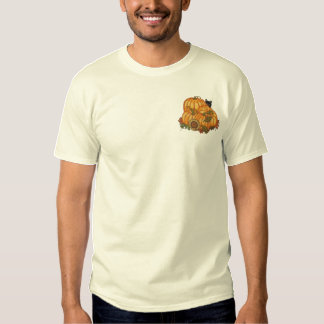 Autumn Bounty Embroidered T-Shirt