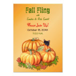 Autumn Bounty Fall Fling Personalized Announcement