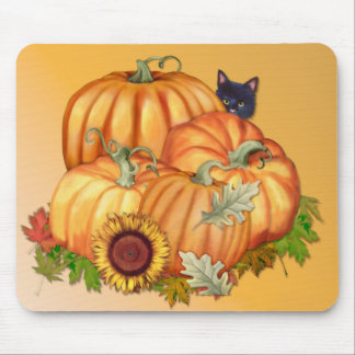 Autumn Bounty Mouse Pads