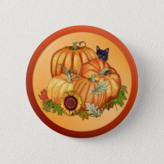 Autumn Bounty Pinback Button