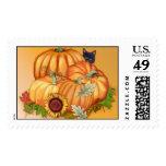 Autumn Bounty Postage Stamp