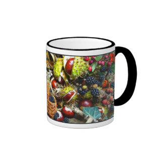 AUTUMN BOUNTY   ~ Ringer Mug