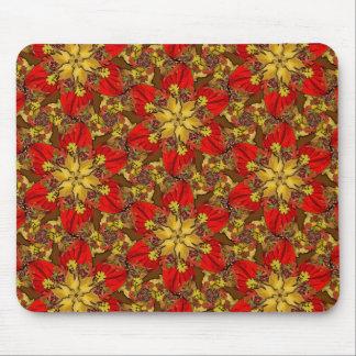 Autumn Bouquet Redux Lg Any Color Mouse Pad