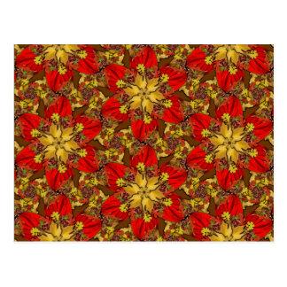 Autumn Bouquet Redux Lg Any Color Postcard