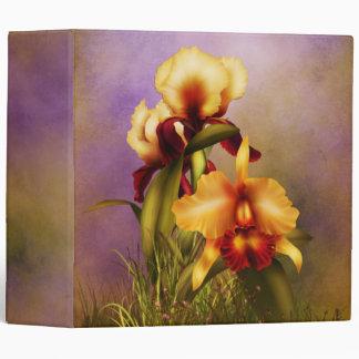 Autumn Bouquet Vinyl Binder