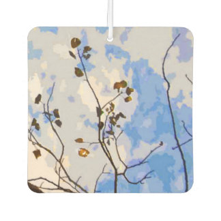 Autumn Branches Abstract Air Freshener