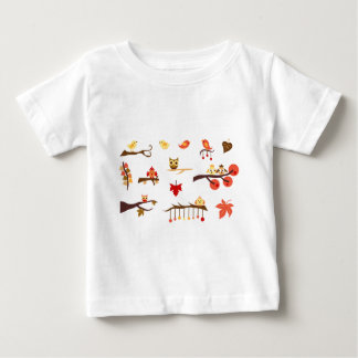 Autumn Branches Baby T-Shirt