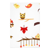 Autumn Branches Stationery