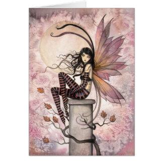 Autumn Breezes Fairy Fantasy Art Card